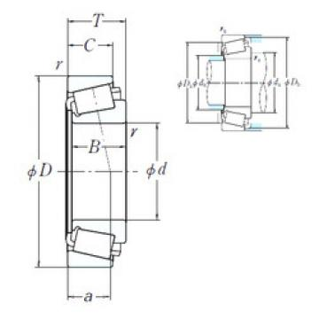 Bearing H239640/H239612 NSK