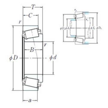 Bearing H239649/H239612 NSK