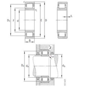 Bearing NU2334-EX-M1 FAG