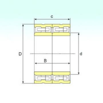 Bearing FCD 80114440 ISB