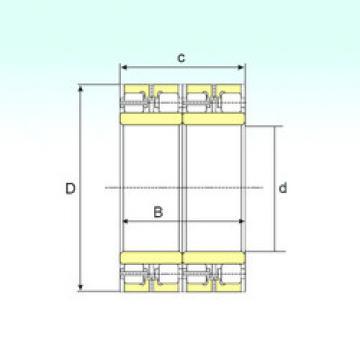 Bearing FCDP 102152550 ISB