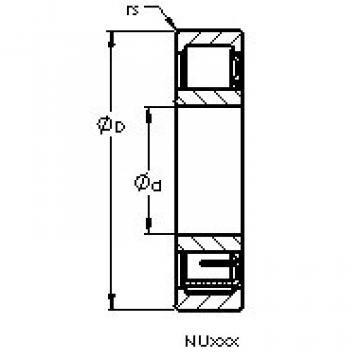 Bearing NU238 EM AST