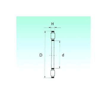 K81222TN NBS Thrust Roller Bearings
