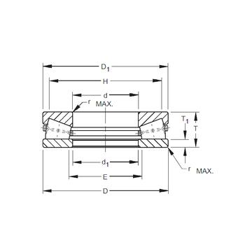 S-4077-C Timken Thrust Roller Bearings