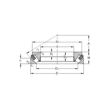 29388-M NKE Thrust Roller Bearings