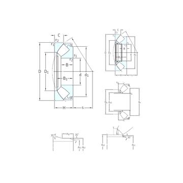 292/1180EF SKF Thrust Roller Bearings