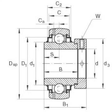 Bearing GNE60-KRR-B INA