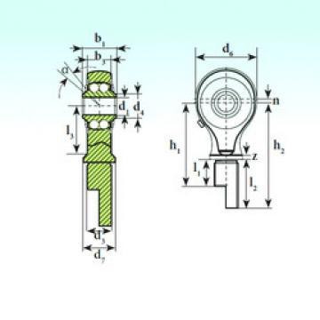 Bearing TSM 12-01 BB-E ISB