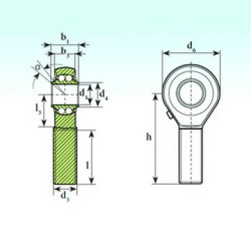 Bearing TSM 14 BB ISB