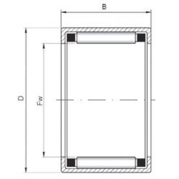 Bearing HK223018 ISO