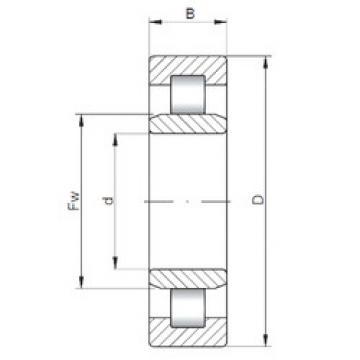 Bearing NU2868 ISO