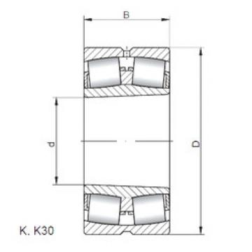 Bearing 239/530 KCW33 CX