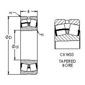 Bearing 23260CAKW33 AST