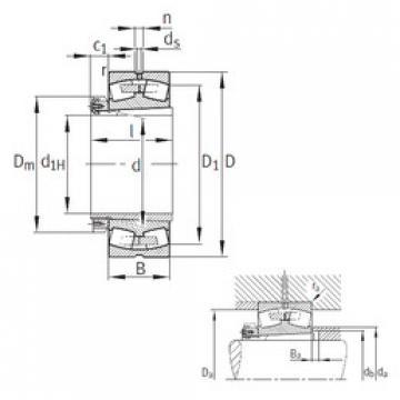 Bearing 239/530-K-MB+H39/530 FAG