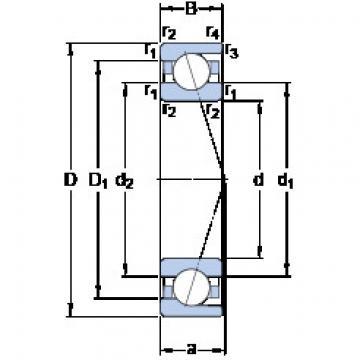 Bearing 71817 ACD/HCP4 SKF
