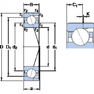 Bearing 7009 ACD/P4AH SKF