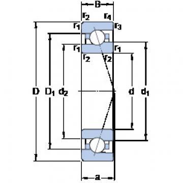 Bearing 7009 ACE/HCP4A SKF