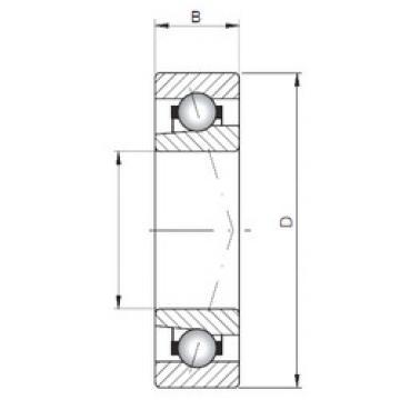 Bearing 71817 A ISO