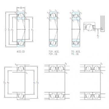 Bearing 71817 CD/HCP4 SKF