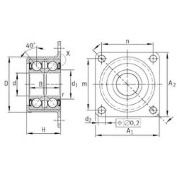 Bearing ZKLR1244-2RS INA