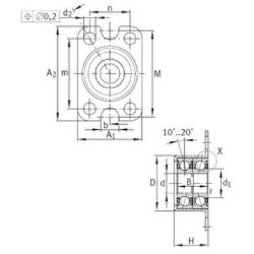 Bearing ZKLR0828-2Z INA
