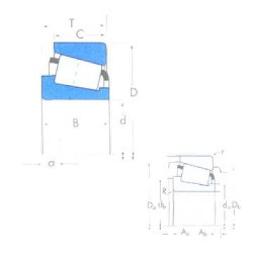 Bearing 72212C/72487 Timken