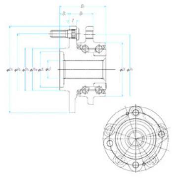 Bearing ZA-58BWKH06E2-JB--01 NSK