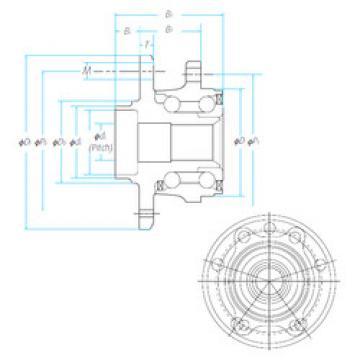 Bearing ZA-57BWKH04D1-Y-01 E NSK