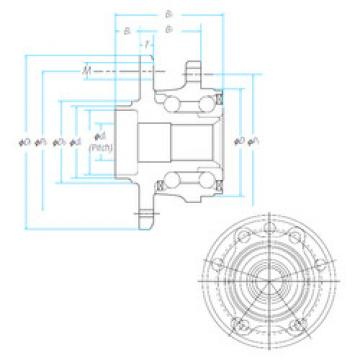 Bearing ZA-57BWKH04E2-Y-01 E NSK