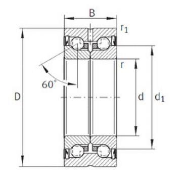 Bearing ZKLN5090-2RS-PE INA