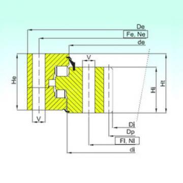 Bearing ZR3.25.1800.400-1SPPN ISB
