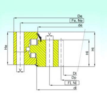 Bearing ZR3.32.3550.400-1SPPN ISB