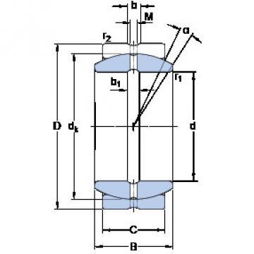 Bearing GEZ 308 ES SKF