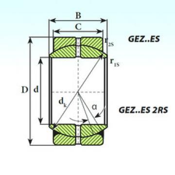 Bearing GEZ 34 ES ISB