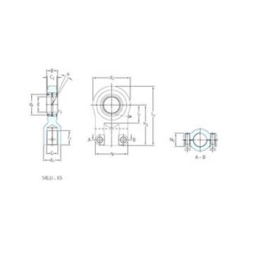 Plain Bearings SILQG25ES SKF