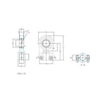 Plain Bearings SILQG40ES SKF