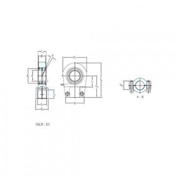 Plain Bearings SILR 100 ES SKF