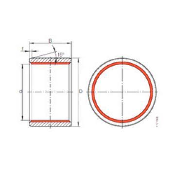 Bearing ZGB 140X155X150 INA