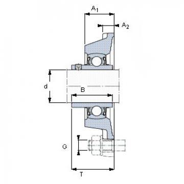 Bearing YAR 205-2FW/VA228 SKF