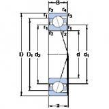 Bearing 71817 CD/P4 SKF