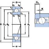Bearing 7009 ACE/HCP4AH1 SKF