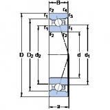 Bearing 7009 ACB/HCP4A SKF