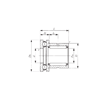 NAX 6040Z IKO Complex Bearings