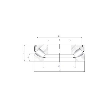 294/500 M CX Thrust Roller Bearings