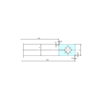 250XRN35 NACHI Thrust Roller Bearings